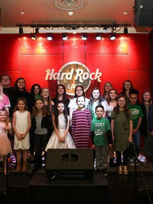 St Patrick's Day at the Hard Rock Cafe