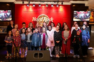 Student Performances at the Hard Rock Cafe